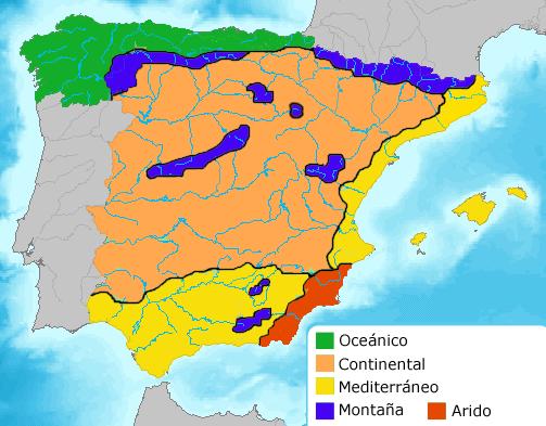 Spain-climate