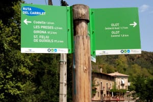 bike routes Cataloniea