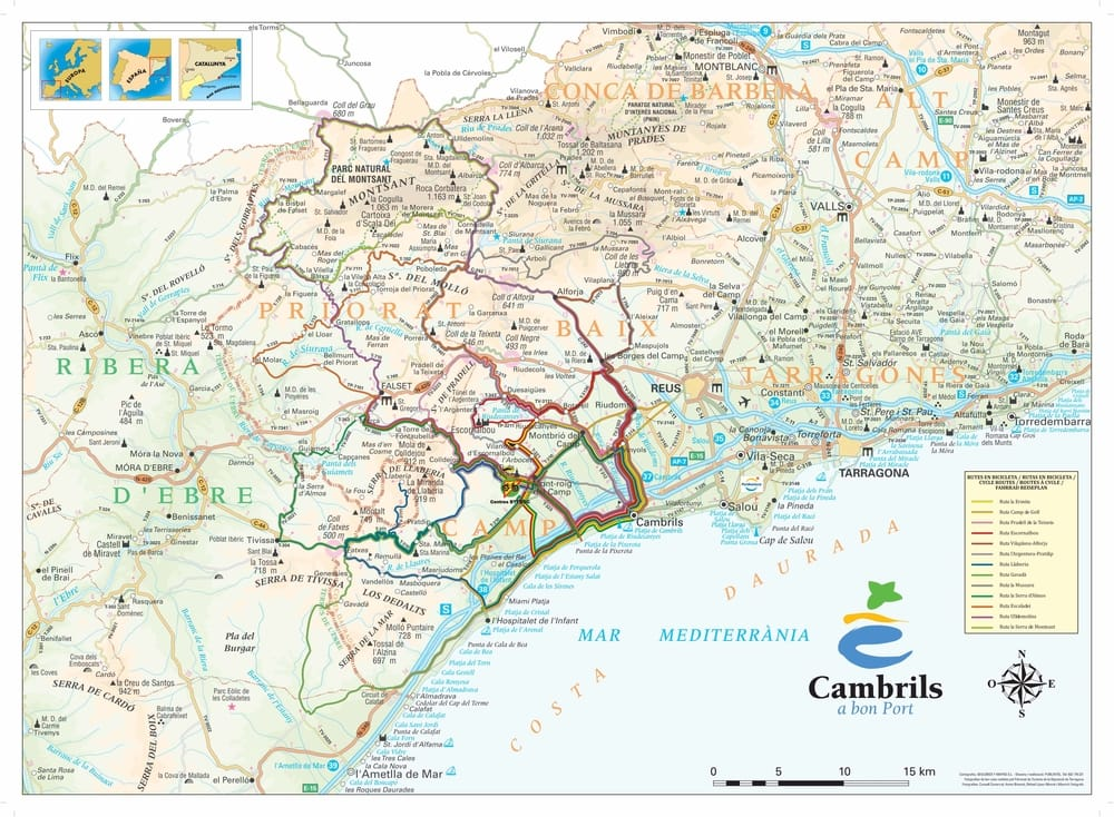 Cycling Tours Cambrils