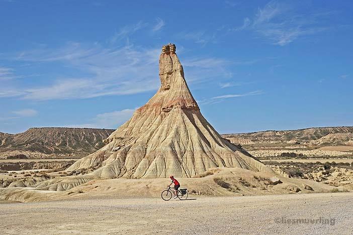 cycling Bardenas Reales