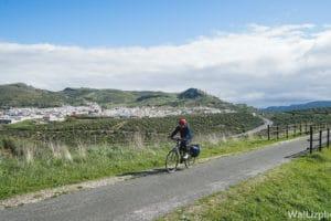 cycling via verde del aceite