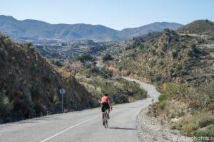 cycling mojacar